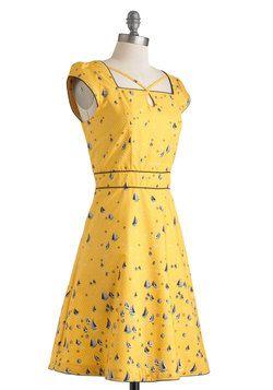 $84.99 Seen in St. Augustine Dress, #ModCloth - So cute.