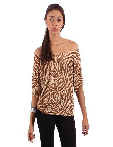 BAP Fashions Women's Filipina Gorgeous Zebra Print Blouse  Price : $19.99 http://www.bapfashions.com/BAP-Fashions-Womens-Filipina-Gorgeous/dp/B009N674U6