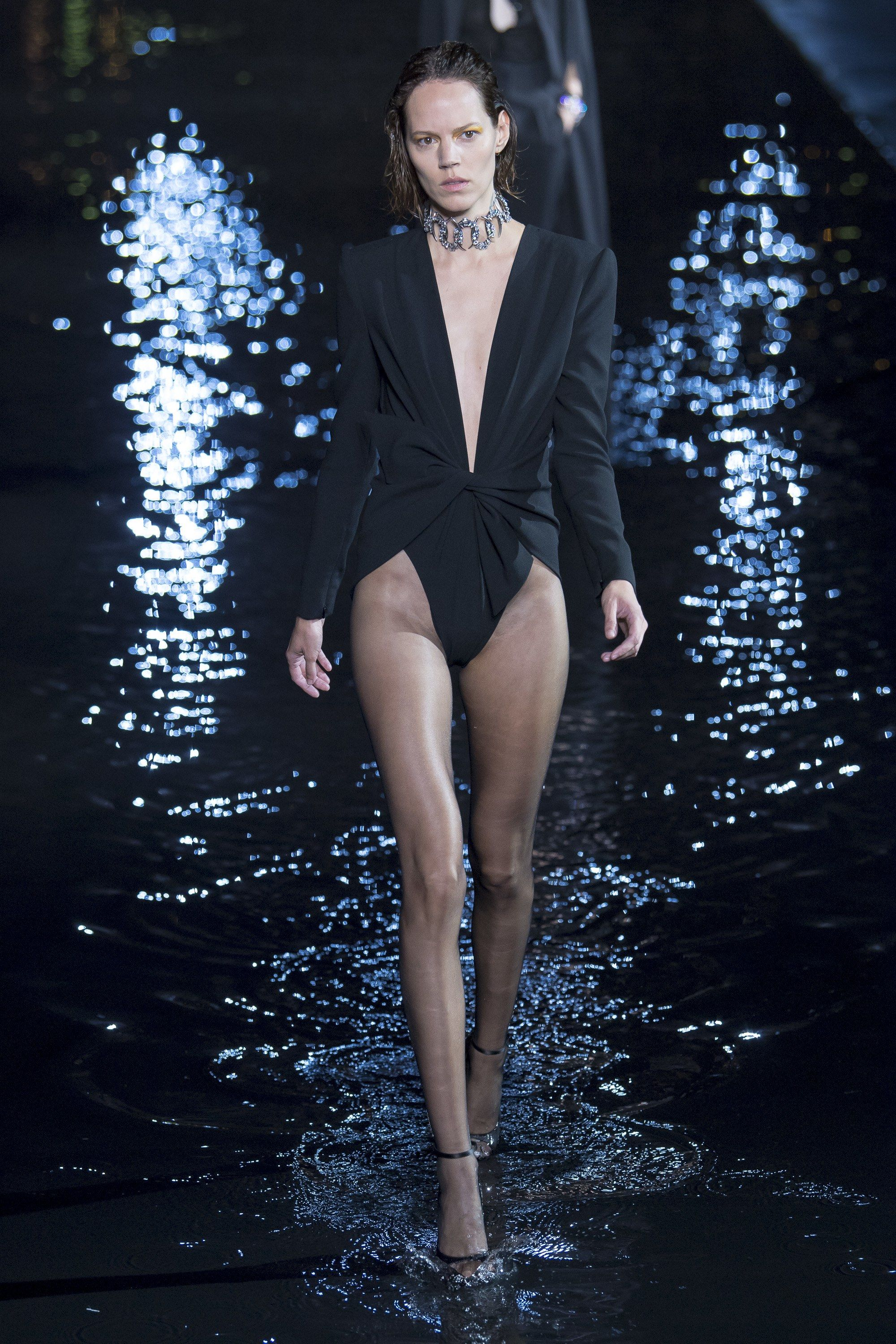 1345c83d676 Saint Laurent Spring 2019 Ready-to-Wear Fashion Show in 2019 | Vogue ...