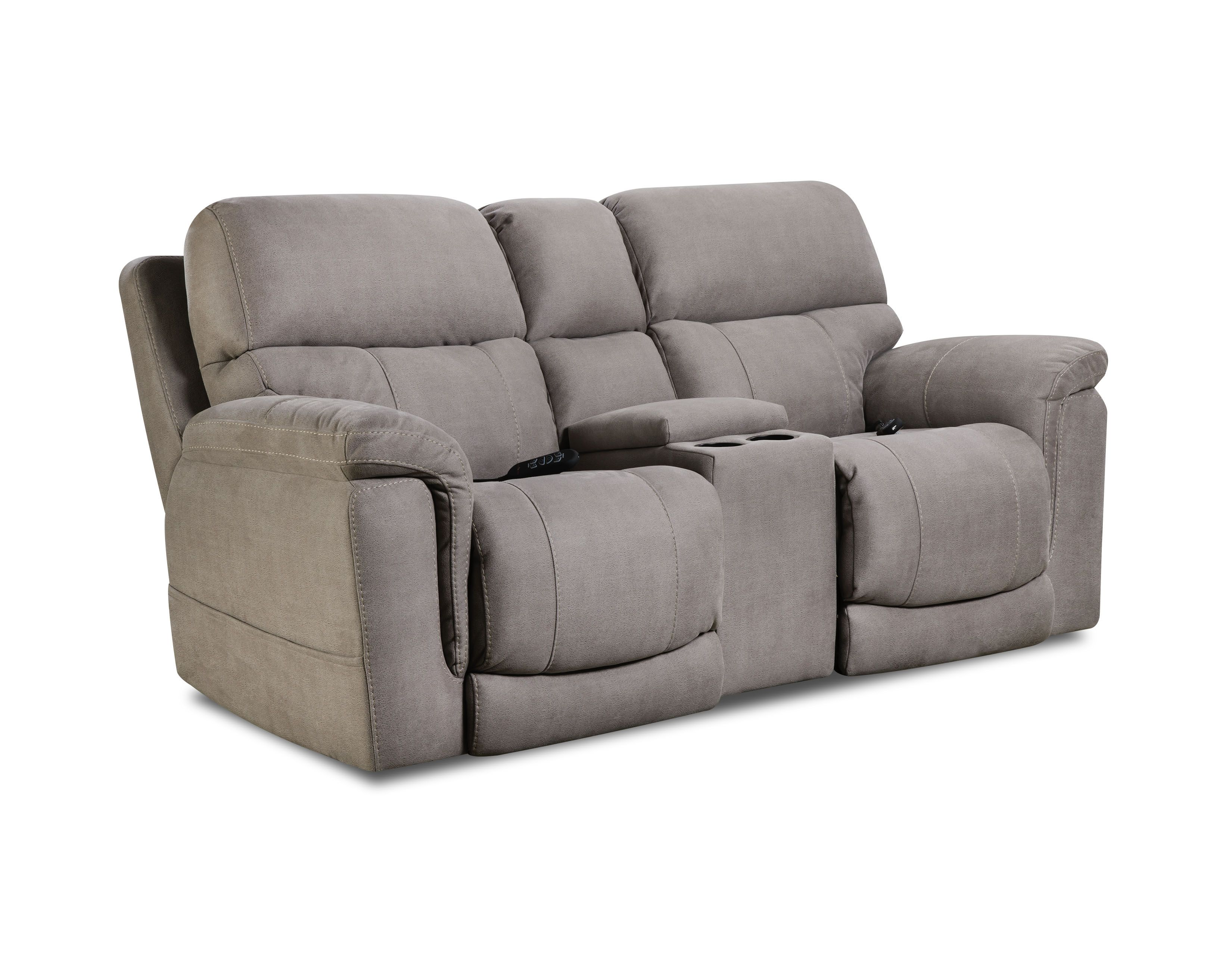 Power Console Loveseat From Homestretch Sofa Power Reclining Sofa Furniture