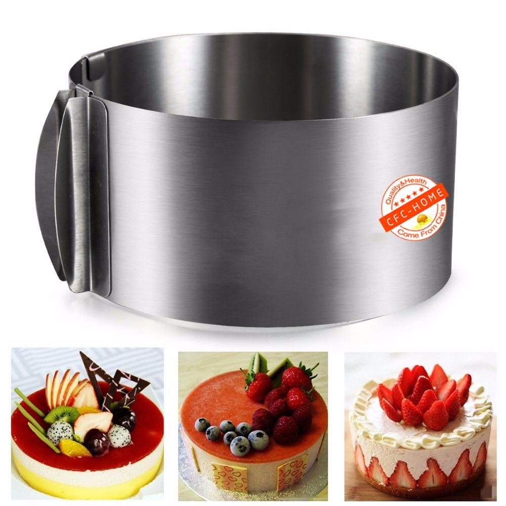985us 31 off6 to 12 inch adjustable mousse ring mould