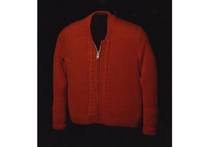 Mister Roger S Sweater Mr Rogers Sweater Tie Shoes Red Knit Cardigan