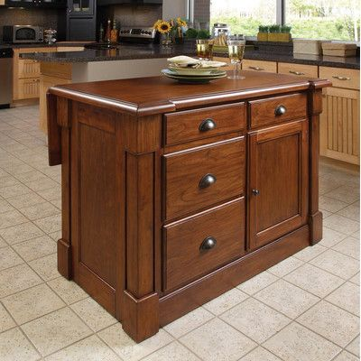 Home Styles Aspen Kitchen Island Reviews Wayfair Home Decor - Wayfair kitchen island