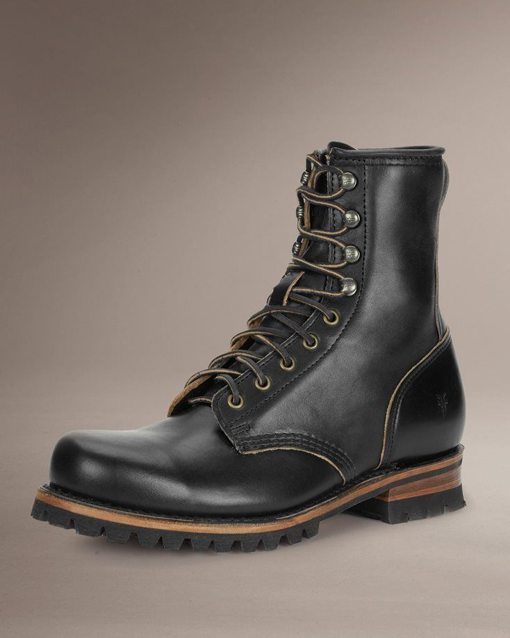 Mens Leather Boots Engineer Boots Wingtip Amp More Frye