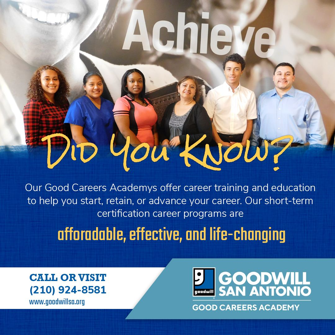 Good Careers Academy offers career training and education