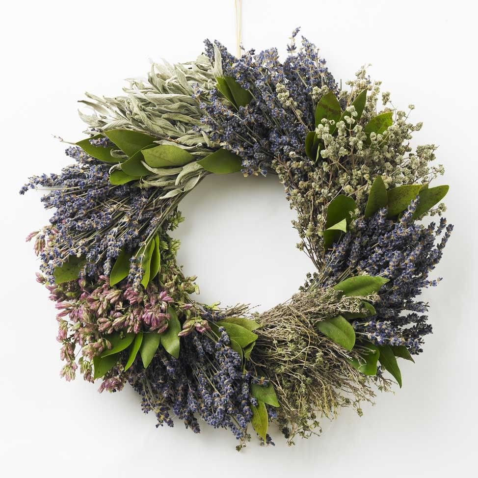 French Herb Wreath | $69