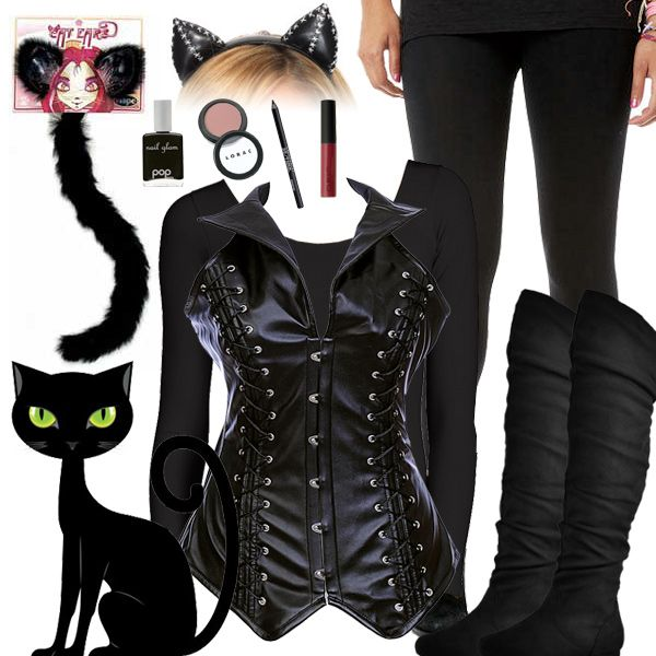 black cat halloween costume - Cat Outfit For Halloween