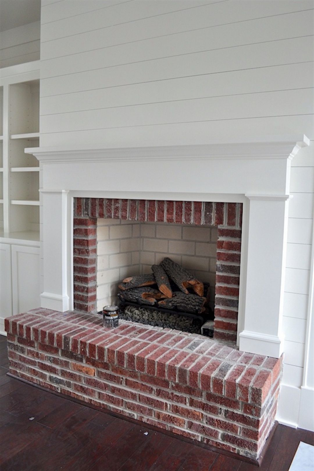 Brick Fireplace Mantle 91 Brick fireplace mantles, Brick