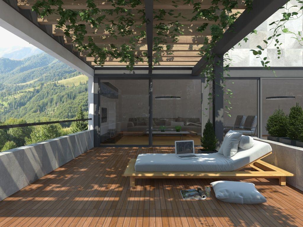 Imagen de pisos y azulejos deexteriores decoracion for Azulejos patio exterior