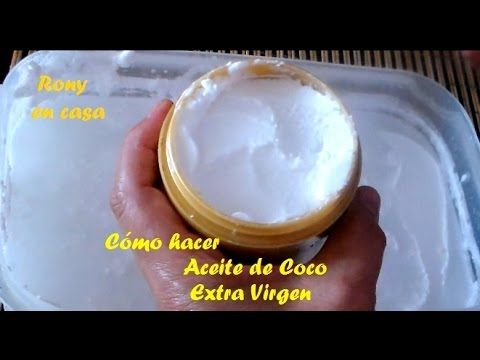 aceite de coco extra virgen usos
