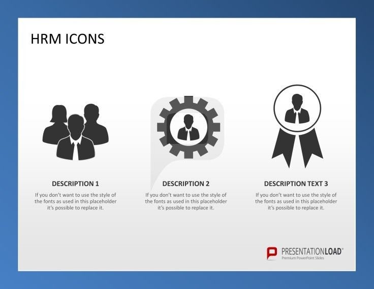 Human Resource Management PowerPoint Template The HR Profession - hr resource