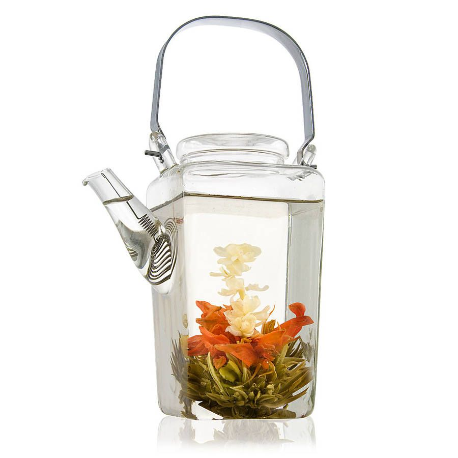 Shan Glass Teapot With Filter 700ml Tea Pots Glass Teapot Flower Tea
