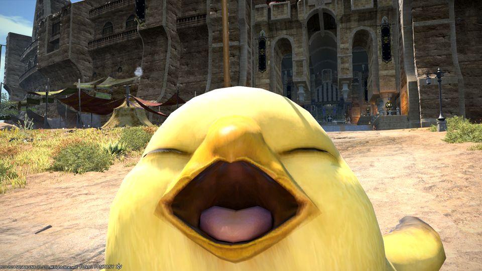 新生ff14 マメット モーグリとでぶチョコボ Just Smile Final Fantasy Aesthetic