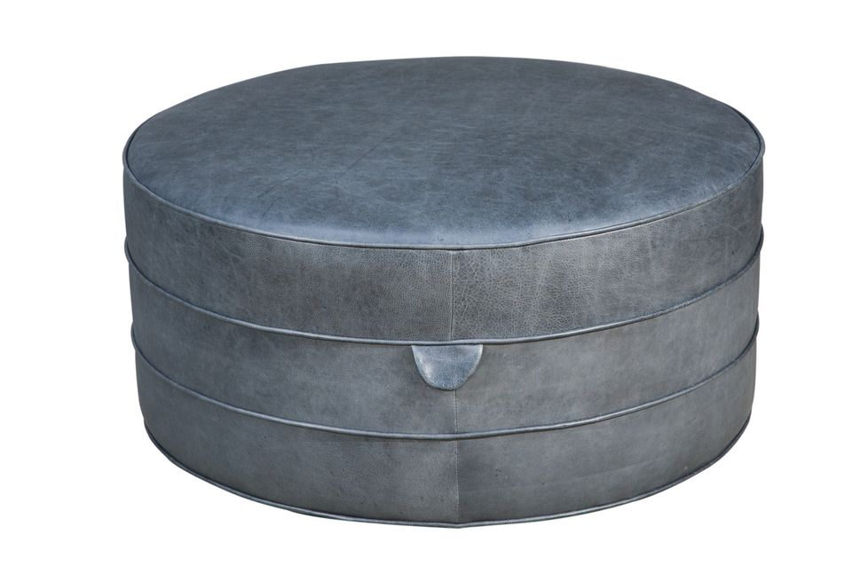 36 Diam X 16 H Made To Order Ottomon Contemporary Stools Art Deco Chair Ottoman