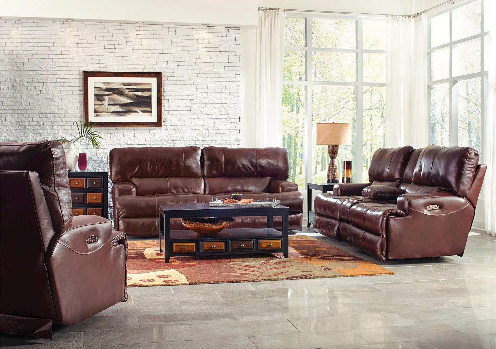 Lacks Wembley 2 Pc Dual Reclining Living Room Set With Power With Images Reclining Sectional Living Room Sets Living Room Collections