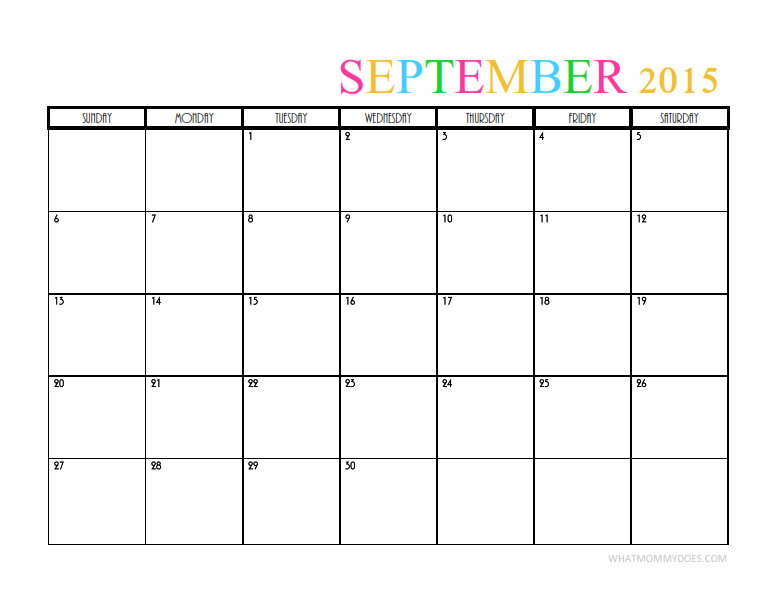 i love this pretty printable september calendar template this blank monthly calendar is perfect for keeping track for our family and my blog