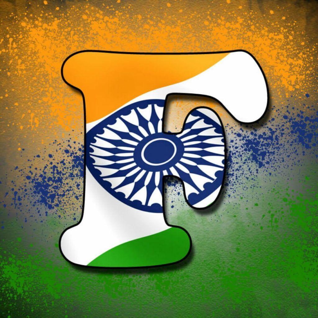 Alphabet Tiranga Image Indian Flag Images Whatsapp Dp Name Wallpaper