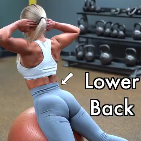 #Rücken #Unterer LOWER BACK 🔥        #fitfam #Fitness #Fitnessmotivation #Fitnessreise #fitlife