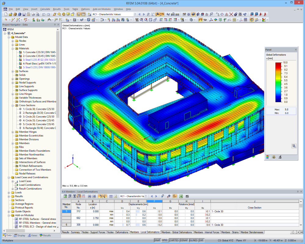 Concrete Structural Analysis Design Software Structural Analysis Structural Engineering Concrete