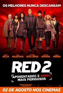 Filme Red 2 Aposentados E Ainda Mais Perigosos Posters De