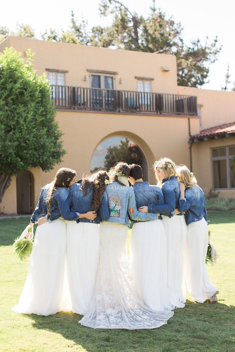 A beautiful boho wedding in the california forest boho weddings