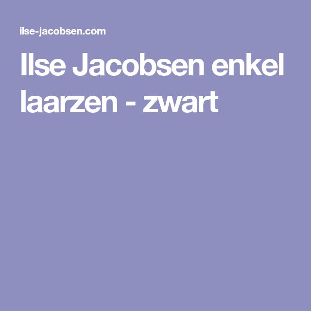 Ilse Jacobsen enkel laarzen - zwart