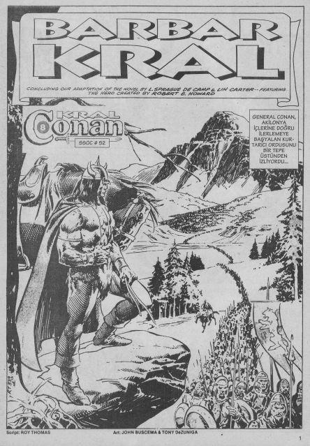 Kral Conan Alfa Yayınları Sayı 08 - Barbar Kral