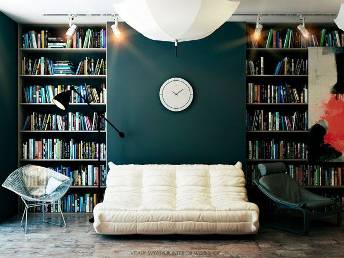 50 Cozy Reading Nooks   Home library design, Reading room ...