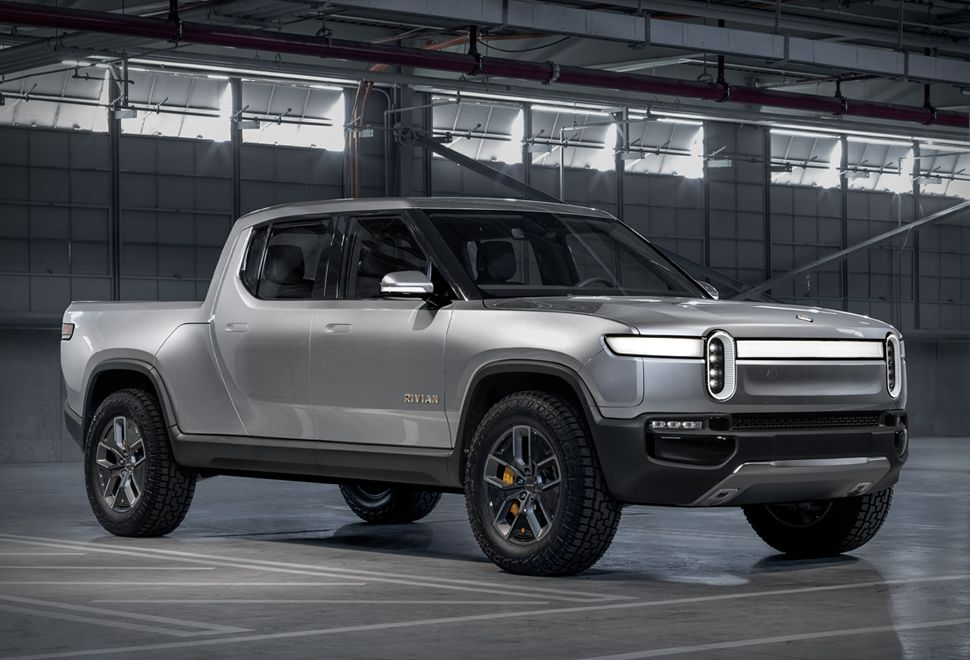Rivian R1t Electric Truck Electric Pickup Truck Electric Truck