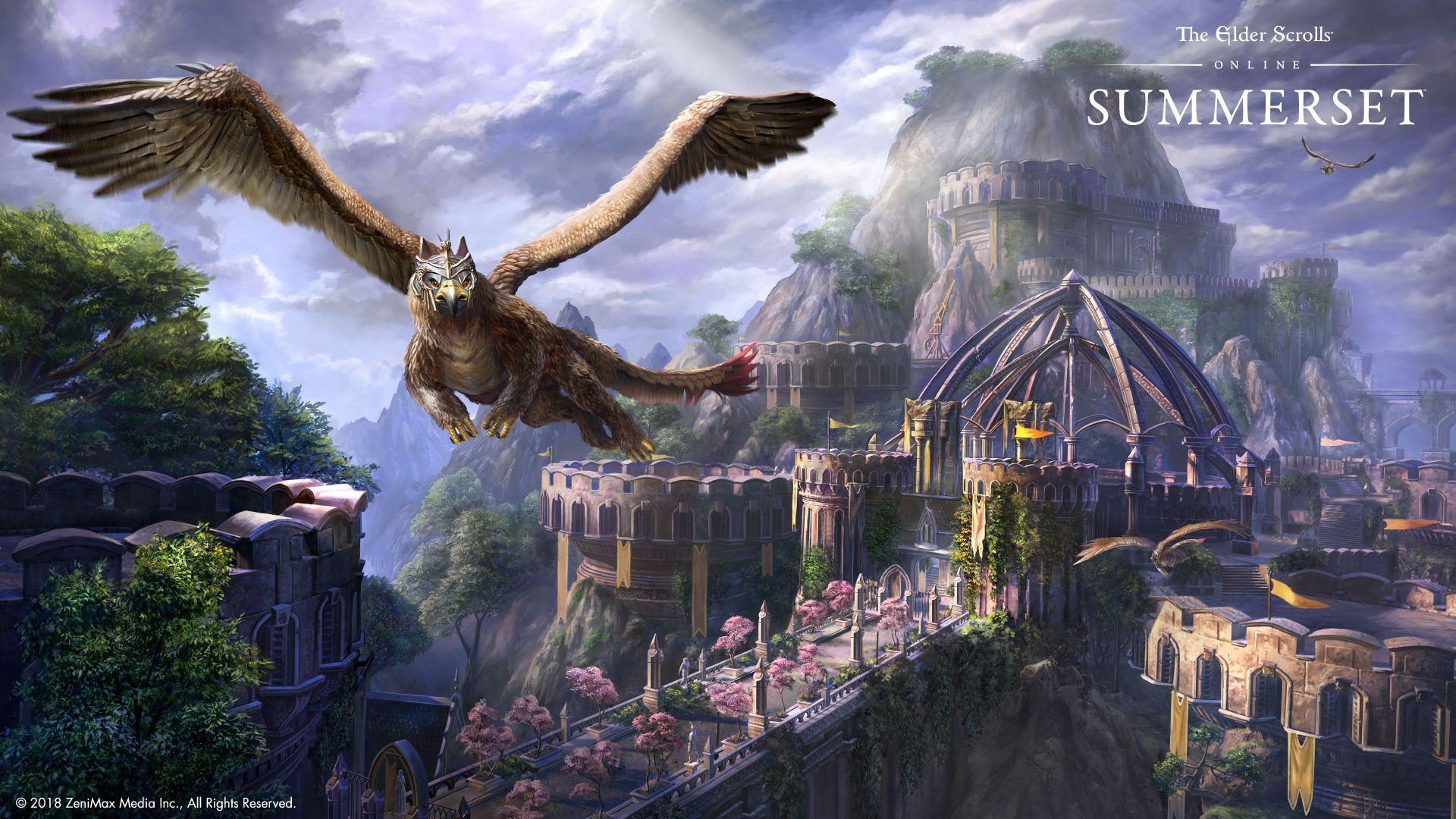 Wallpaper The Elder Scrolls Online Summerset Poster 4k Games 18743 Elder Scrolls Art Elder Scrolls Online Elder Scrolls