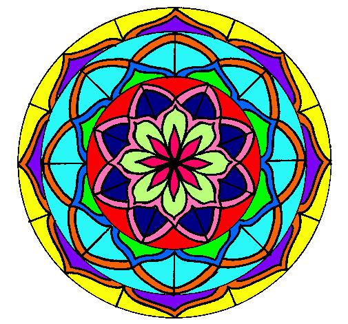Mandalas coloreadas a mano faciles buscar con google mandalas pinterest mandala - Mandala facile ...