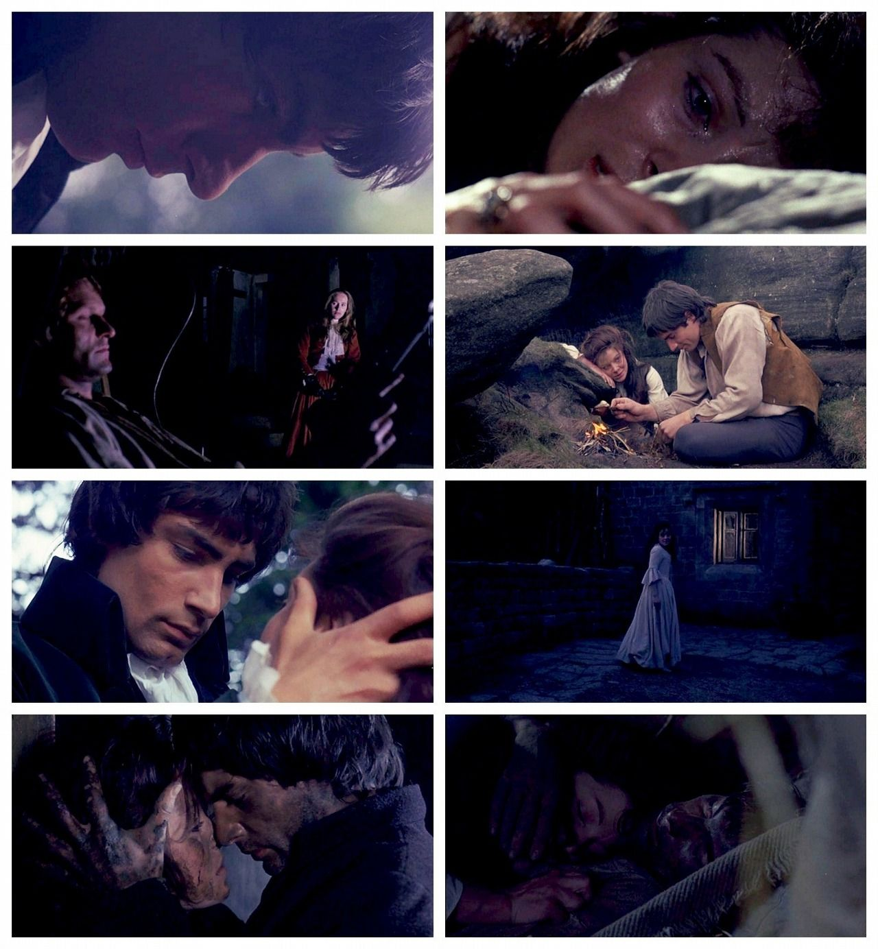 Wuthering Heights 1970 - with Timothy Dalton as Heathcliff and Anna Calder-Marshall as Cathy #Bronte #WutheringHeights