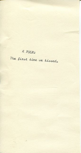 A Poem First Kiss Quotes Poems Kissing Quotes