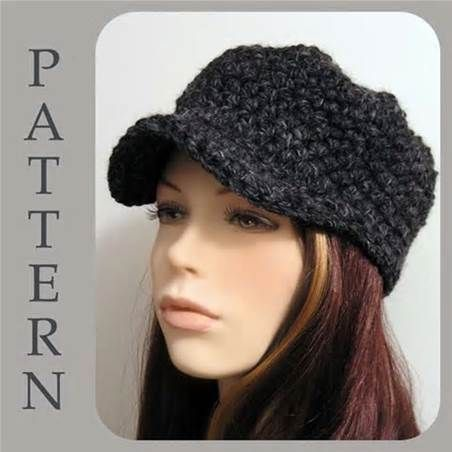Crochet Newsboy Hat Pattern Free Free Easy Crochet Patterns