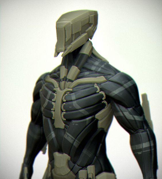 mechanical shoulder concept art - Google Search