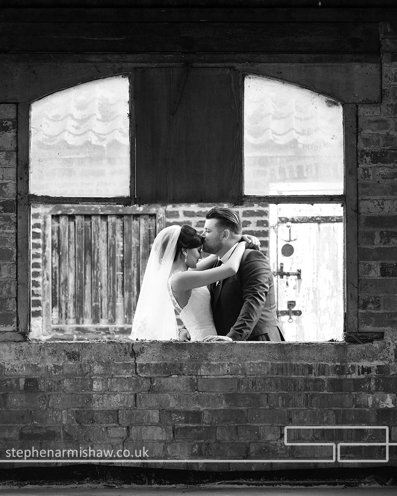 Contemporary Funky Black And White Wedding Photography At The Fab Tickton Grange By Leading Photographer