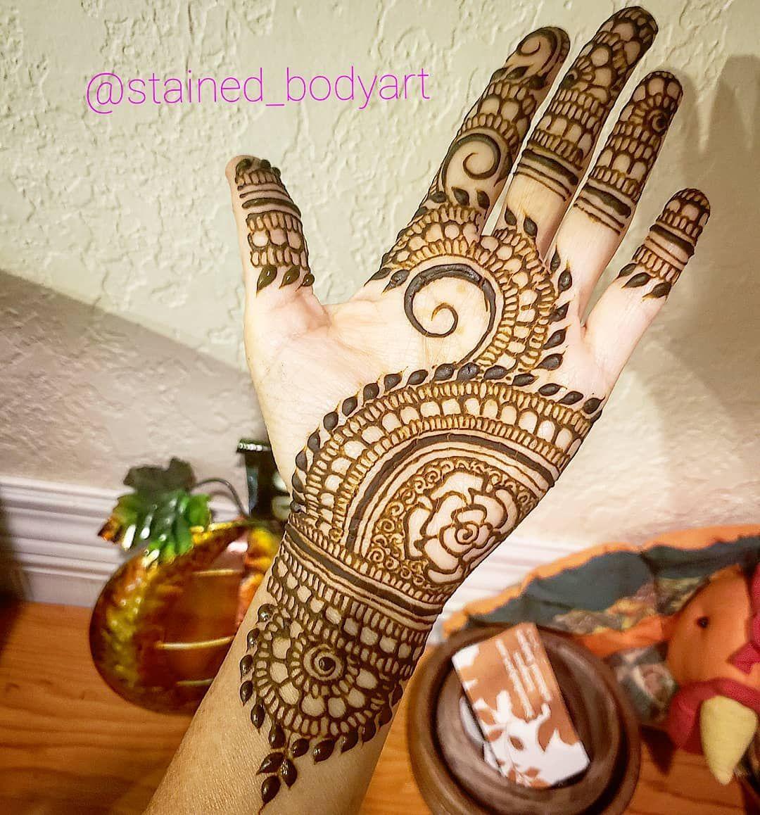 Professional mehndi design by designer designs henna also rh pinterest