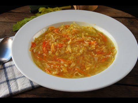 Sopa juliana de verduras recetas ligeras youtube 4 for Cenas faciles y economicas