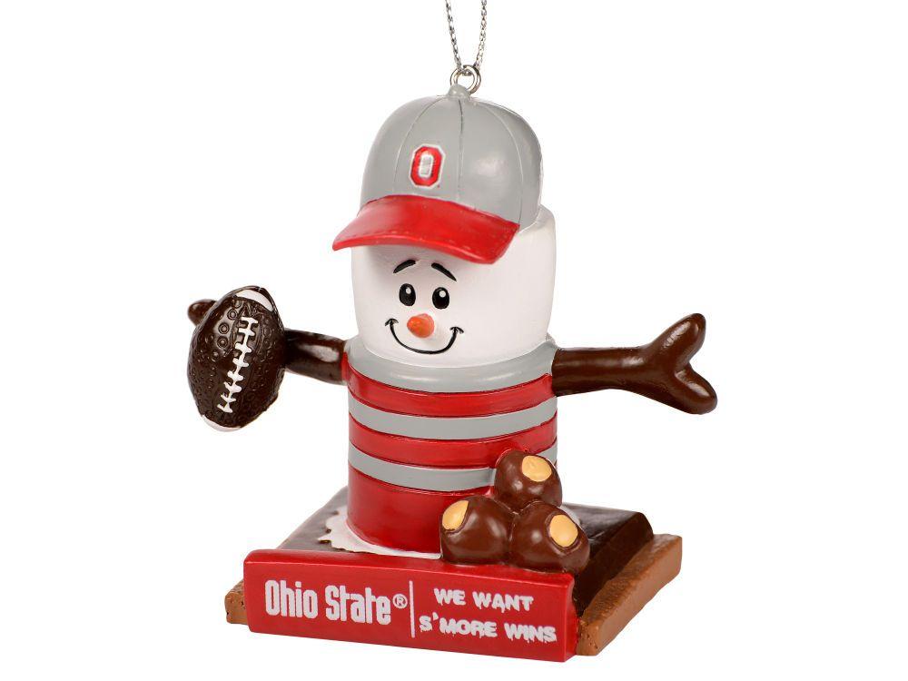 Ohio State Buckeyes Thematic Smore Ornament | Snowman ...