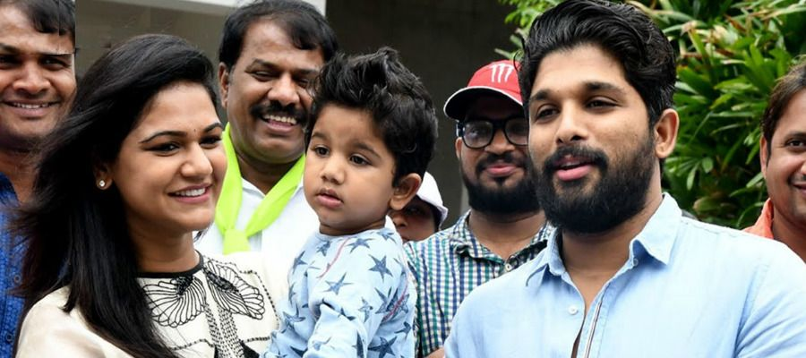 Happy Moment! It Is A Baby Girl For Allu Arjun And Sneha