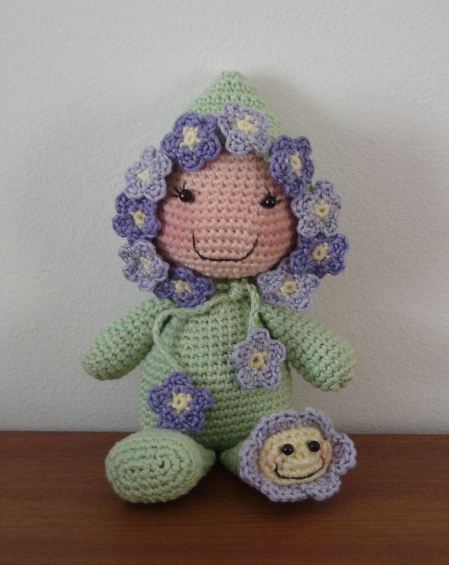 Arroz rellenas muñecas - 09 | Amigurumis: bebés:móviles, accesorios ...