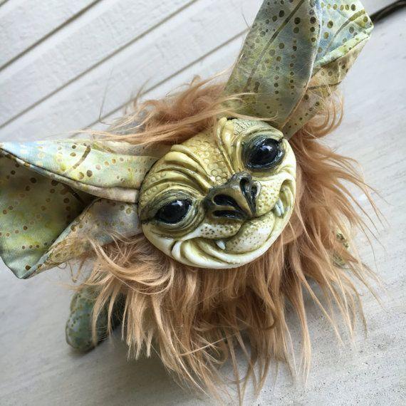 MOSSYDream Creeper Plush Art Doll by busymockingbird on Etsy