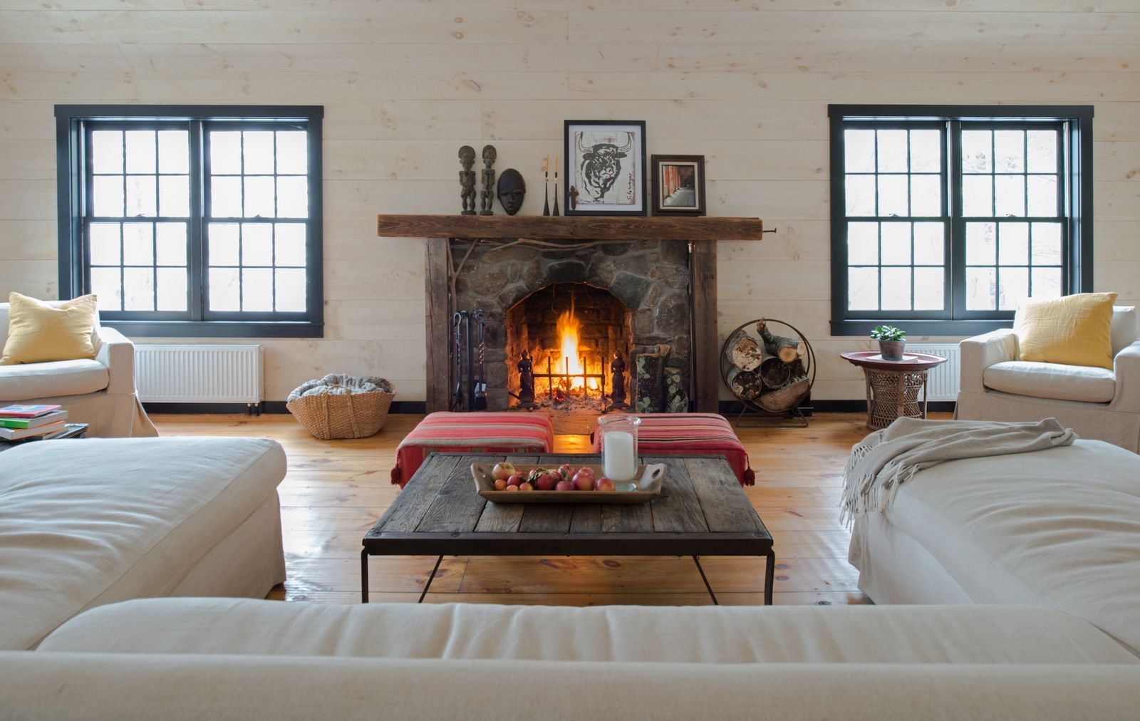 Photo of House Tour: An Old-Fashioned Summer Camp, Redesigned For Winter- ELLEDecor.com