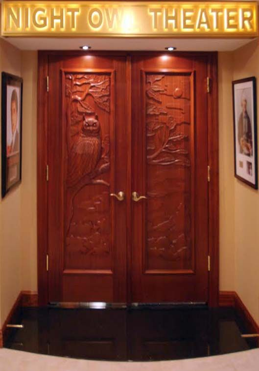 home theater doors - Bing Images & home theater doors - Bing Images | Theatre | Pinterest | Doors ...