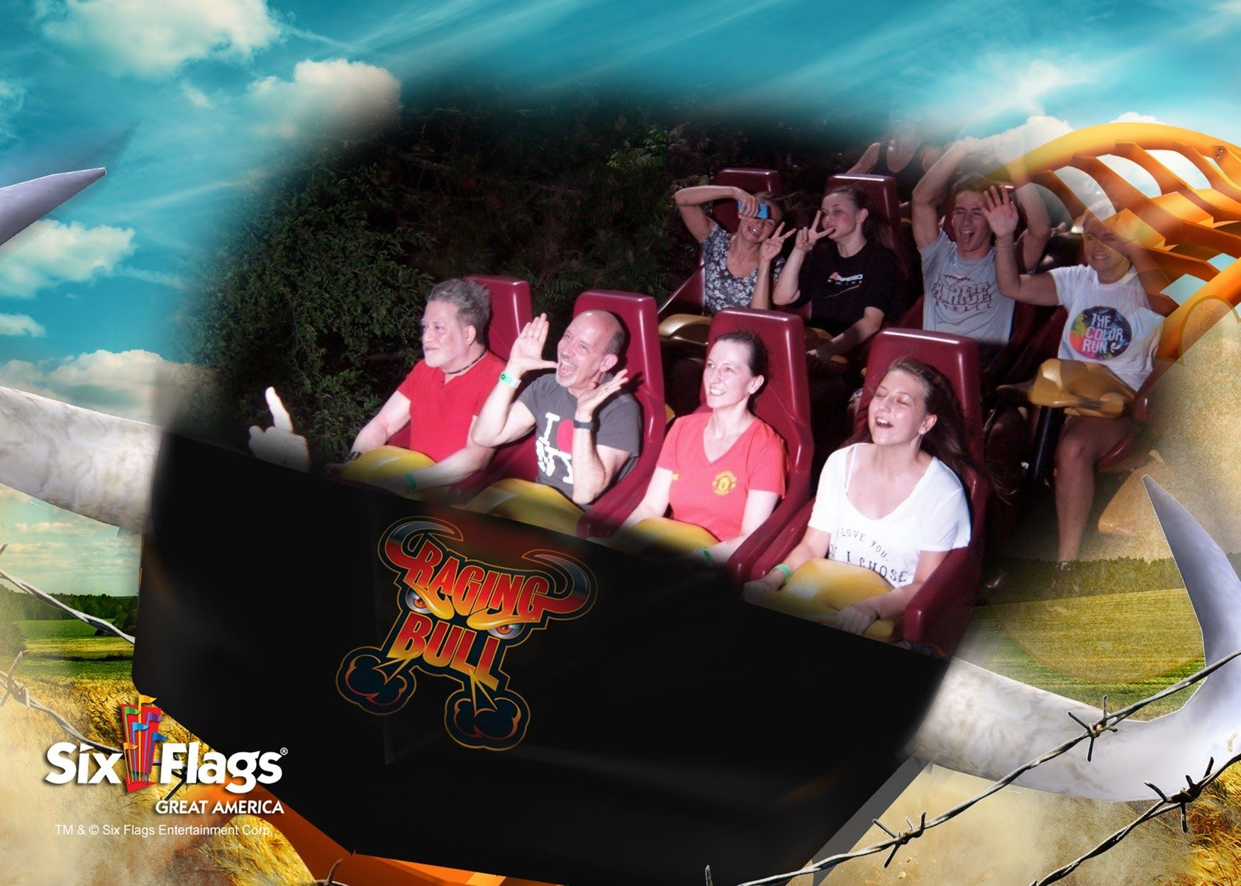 Coasterselfie Sunday Ragingbull Rollercoaster Themepark Fun Amusementpark Coaster Photography Rollercoasters T Thrill Ride Cedar Point Amusement Park