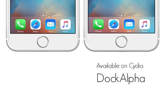DockAlpha cydia tweak lets you to adjust the opacity of the