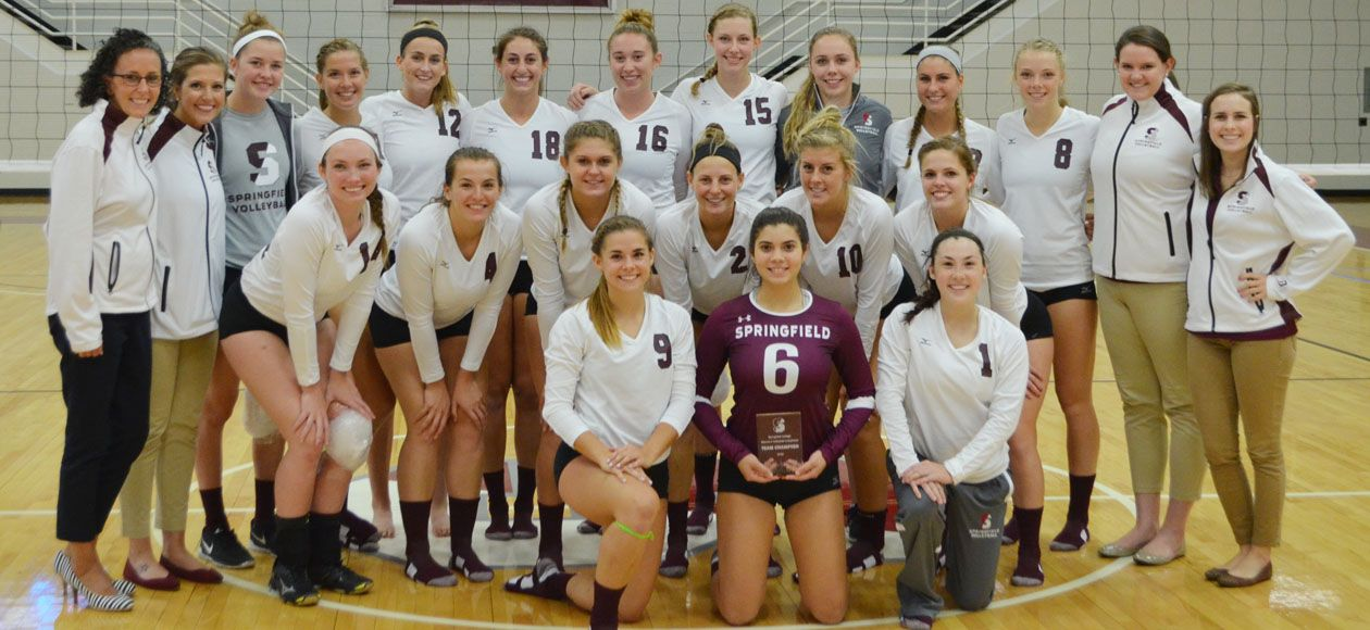 Women S Volleyball Wins 2016 Springfield College Invitational September 03 2016 Springfield Mass S Springfield College Women Volleyball Westfield State