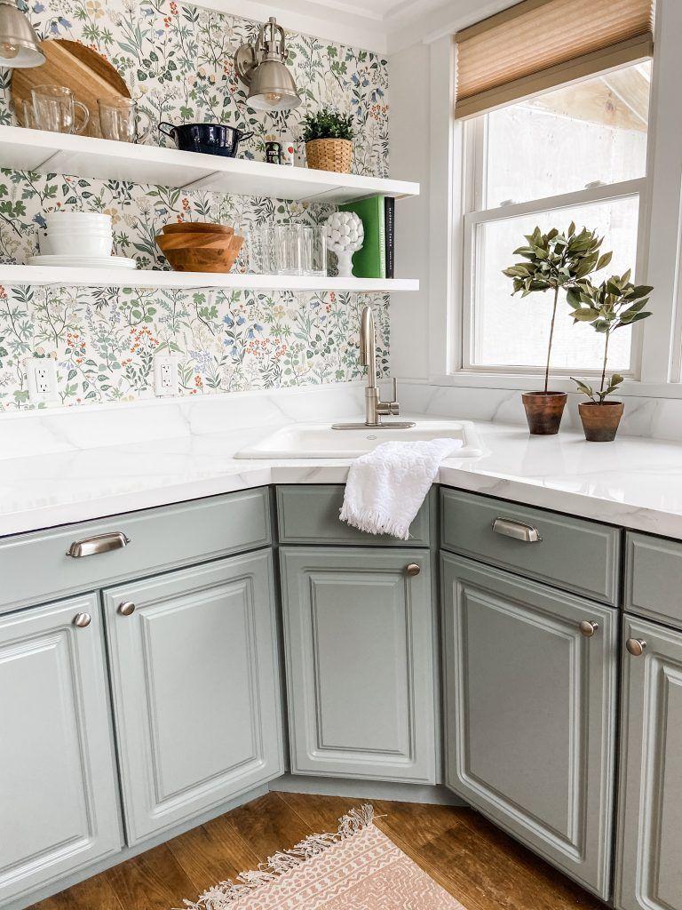 Lakeside Kitchen   Lake house kitchen, Cottage kitchen cabinets ...