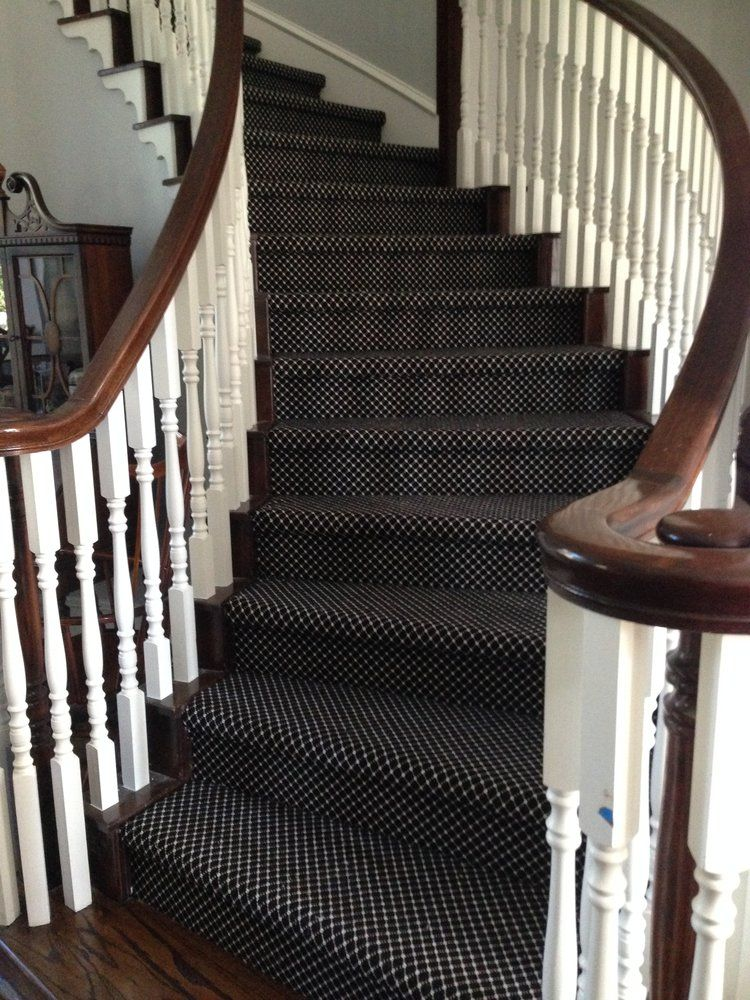 Should I Carpet My Stairs With The Same Carpet I Use Upstairs Designed Carpet Staircase Stair Installation Carpet Stairs