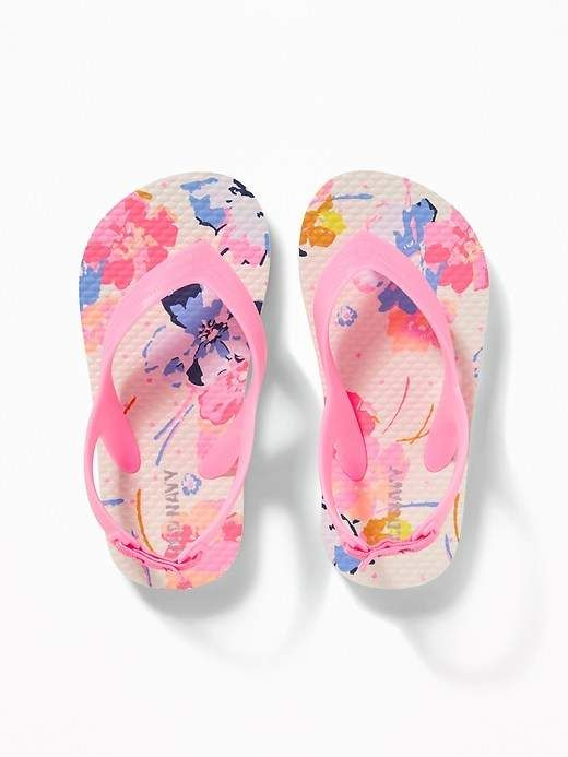 d87830e7efa Old Navy Printed Flip-Flops for Toddler Girls   Baby